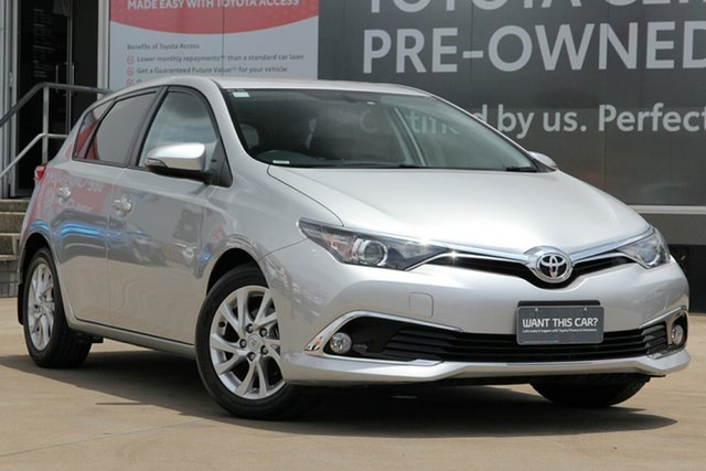 Used Toyota Corolla ZRE182R MY17 Ascent Sport, 2018 Toyota Corolla ZRE182R MY17 Ascent Sport Premium Silver 7 Speed CVT Auto Sequential Hatchback