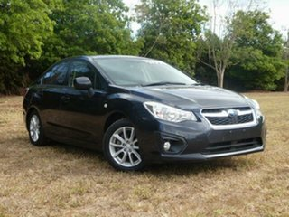 2012 Subaru Impreza MY12 2.0I (AWD) Dark Blue Continuous Variable Sedan.