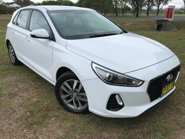 Used Hyundai i30 PD2 MY18 Active D-CT, 2018 Hyundai i30 PD2 MY18 Active D-CT Polar White 7 Speed Sports Automatic Dual Clutch Hatchback