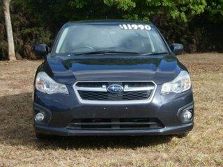 2012 Subaru Impreza MY12 2.0I (AWD) Dark Blue Continuous Variable Sedan