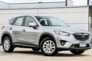 2013 Mazda CX-5 KE1021 MY13 Maxx SKYACTIV-Drive AWD Sport Aluminium Silver 6 Speed Sports Automatic.