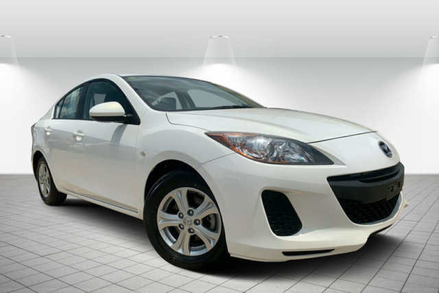 Used Mazda 3 BL10F2 Neo, 2012 Mazda 3 BL10F2 Neo White 6 Speed Manual Sedan