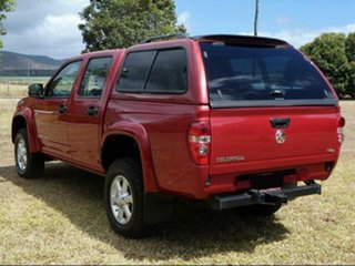 2011 Holden Colorado RC MY11 LX (4x4) Red 5 Speed Manual Crew Cab Pickup