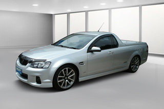 2010 Holden Ute VE II SS V Nitrate Silver 6 Speed Manual Utility.