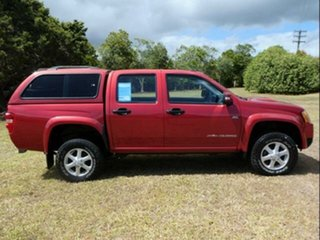 2011 Holden Colorado RC MY11 LX (4x4) Red 5 Speed Manual Crew Cab Pickup.