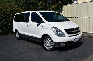 2015 Hyundai iMAX TQ3-W Series II MY16 Creamy White 5 Speed Automatic Wagon.