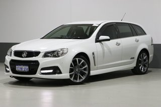 2013 Holden Commodore VF SS-V White 6 Speed Automatic Sportswagon.