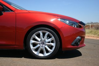 2016 Mazda 3 BM MY15 SP25 Soul Red 6 Speed Automatic Sedan.