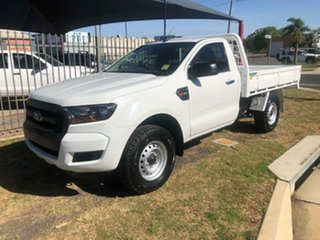 2015 Ford Ranger PX MkII XL 3.2 (4x4) White 6 Speed Manual Cab Chassis.