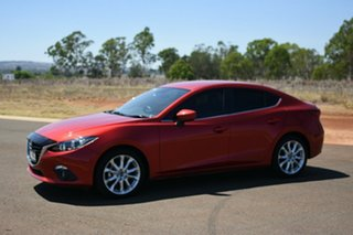 2016 Mazda 3 BM MY15 SP25 Soul Red 6 Speed Automatic Sedan