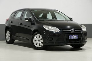 2012 Ford Focus LW MK2 Ambiente Black 6 Speed Automatic Hatchback.