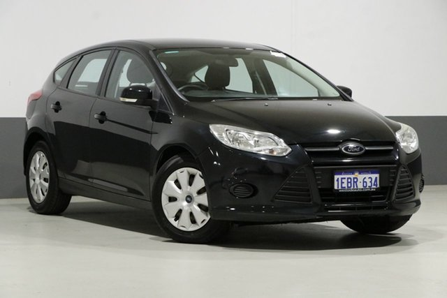 Used Ford Focus LW MK2 Ambiente, 2012 Ford Focus LW MK2 Ambiente Black 6 Speed Automatic Hatchback