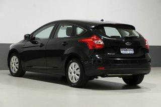 2012 Ford Focus LW MK2 Ambiente Black 6 Speed Automatic Hatchback