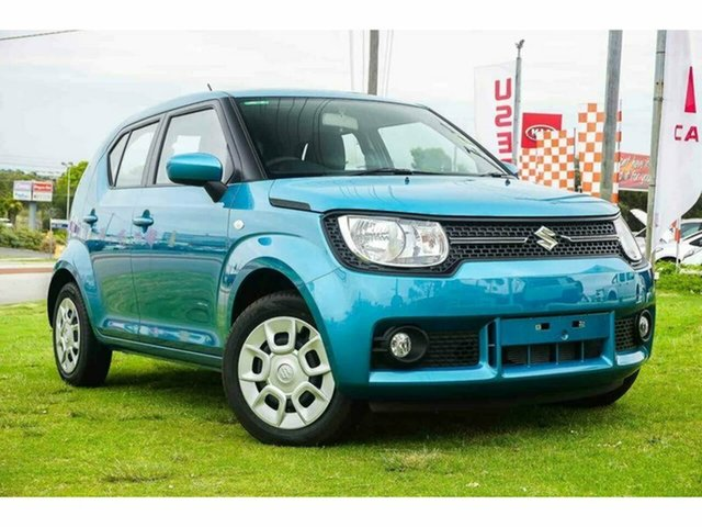 New Suzuki Ignis MF GL, 2019 Suzuki Ignis MF GL Neon Blue 1 Speed Constant Variable Hatchback