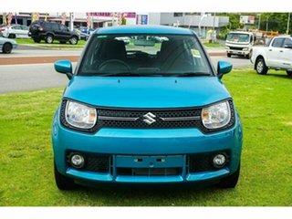 2019 Suzuki Ignis MF GL Neon Blue 1 Speed Constant Variable Hatchback.