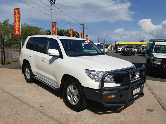 Used Toyota Landcruiser VDJ200R MY13 Altitude, 2014 Toyota Landcruiser VDJ200R MY13 Altitude White 6 Speed Sports Automatic Wagon