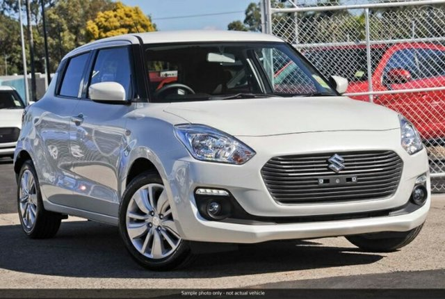 New Suzuki Swift  , 2019 Suzuki Swift SWIFT6 SWIFT GL+ NAVIGATOR (WITH SAFTEY PACK) Pure White Pearl Hatchback