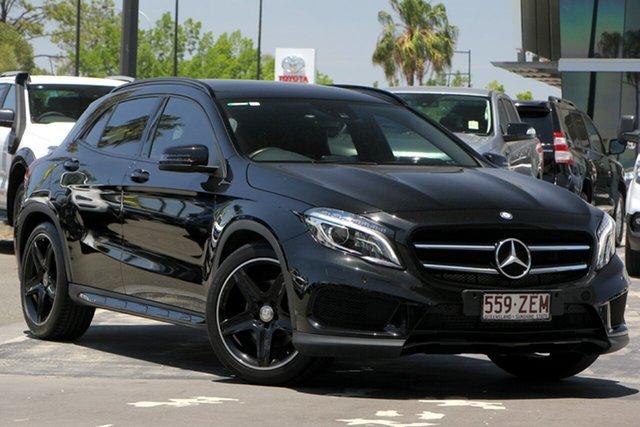 Used Mercedes-Benz GLA-Class X156 GLA250 DCT 4MATIC, 2014 Mercedes-Benz GLA-Class X156 GLA250 DCT 4MATIC Black 7 Speed Sports Automatic Dual Clutch Wagon