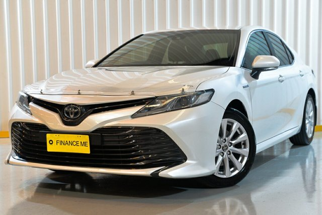Used Toyota Camry AXVH71R Ascent, 2017 Toyota Camry AXVH71R Ascent White 6 Speed Sedan Hybrid