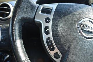 2013 Nissan Dualis J10W Series 3 MY12 ST Hatch 2WD Black 6 Speed Manual Hatchback