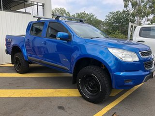 2013 Holden Colorado RG MY13 LT Crew Cab Blue 5 Speed Manual Utility.