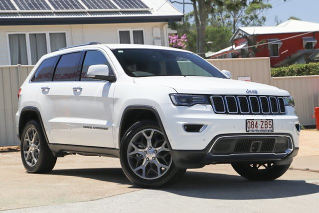 Used Jeep Grand Cherokee WK MY19 Limited, 2019 Jeep Grand Cherokee WK MY19 Limited Bright White 8 Speed Sports Automatic Wagon