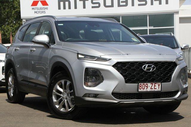 Used Hyundai Santa Fe TM MY19 Active, 2018 Hyundai Santa Fe TM MY19 Active Silver 8 Speed Sports Automatic Wagon