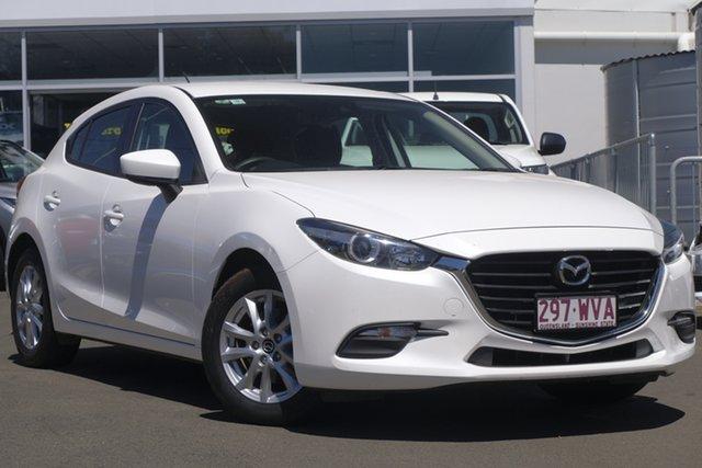 Used Mazda 3 BM5478 Neo SKYACTIV-Drive, 2016 Mazda 3 BM5478 Neo SKYACTIV-Drive White 6 Speed Sports Automatic Hatchback