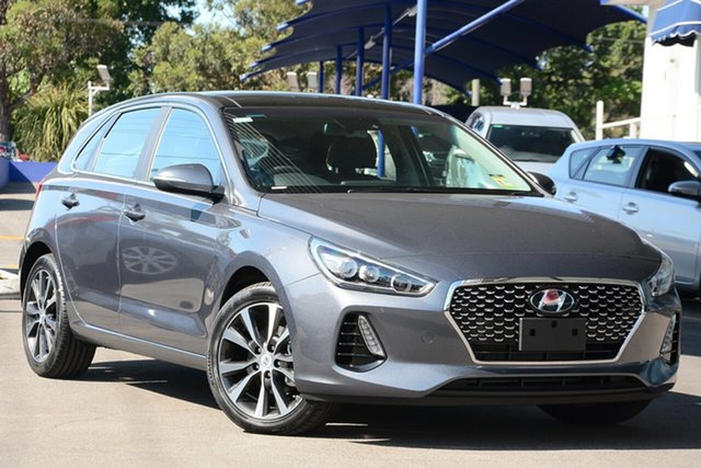 New Hyundai i30 PD2 MY19 Premium, 2019 Hyundai i30 PD2 MY19 Premium Iron Gray 6 Speed Sports Automatic Hatchback