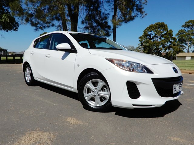 Used Mazda 3 BL10F2 Neo Activematic, 2012 Mazda 3 BL10F2 Neo Activematic White 5 Speed Sports Automatic Hatchback
