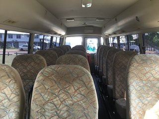 2007 Mitsubishi Fuso Rosa BE649 Base White Bus