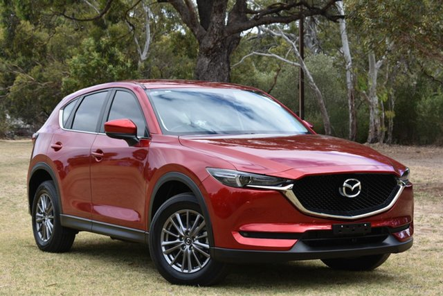 Used Mazda CX-5 KF4WLA Touring SKYACTIV-Drive i-ACTIV AWD, 2017 Mazda CX-5 KF4WLA Touring SKYACTIV-Drive i-ACTIV AWD Red 6 Speed Sports Automatic Wagon