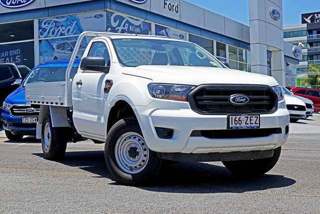 Used Ford Ranger PX MkIII 2019.00MY XL, 2018 Ford Ranger PX MkIII 2019.00MY XL White 6 Speed Manual Cab Chassis