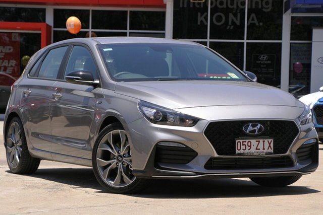 Demo Hyundai i30 PD.3 MY19 N Line D-CT, 2019 Hyundai i30 PD.3 MY19 N Line D-CT Fluidic Metal 7 Speed Sports Automatic Dual Clutch Hatchback