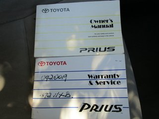 2005 Toyota Prius NHW20R Hybrid Continuous Variable Hatchback