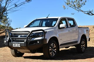 2018 Holden Colorado RG MY18 LS Pickup Crew Cab White 6 Speed Sports Automatic Utility
