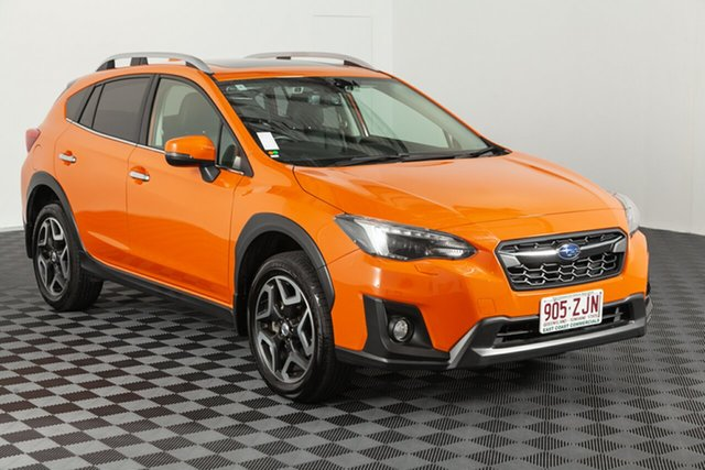 Used Subaru XV G5X MY18 2.0i-S Lineartronic AWD, 2018 Subaru XV G5X MY18 2.0i-S Lineartronic AWD Sunshine Orange 7 speed Automatic Wagon