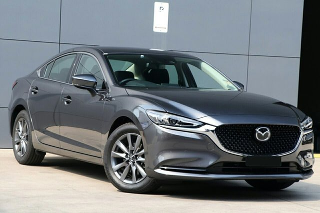 New Mazda 6 GL1033 Sport SKYACTIV-Drive North Rockhampton, 2021 Mazda 6 GL1033 Sport SKYACTIV-Drive Machine Grey 6 Speed Sports Automatic Sedan
