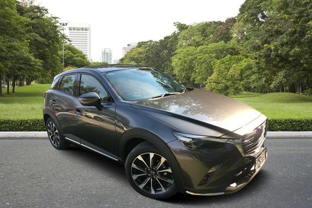 Demo Mazda CX-3 DK2W7A Akari SKYACTIV-Drive FWD, 2019 Mazda CX-3 DK2W7A Akari SKYACTIV-Drive FWD Machine Grey 6 Speed Sports Automatic Wagon