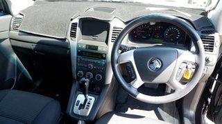 2010 Holden Captiva CG MY10 SX AWD Black 5 Speed Sports Automatic Wagon