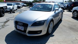 2008 Audi TT 8J S Tronic Silver 6 Speed Sports Automatic Dual Clutch Coupe.