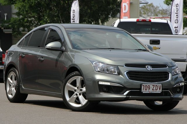 Used Holden Cruze JH Series II MY15 SRi-V, 2015 Holden Cruze JH Series II MY15 SRi-V Grey 6 Speed Sports Automatic Sedan