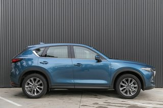 2019 Mazda CX-5 KF4WLA Akera SKYACTIV-Drive i-ACTIV AWD Eternal Blue 6 Speed Sports Automatic Wagon.