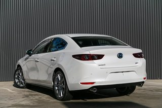 2019 Mazda 3 BP2S7A G20 SKYACTIV-Drive Touring Snowflake White Pearl 6 Speed Sports Automatic Sedan