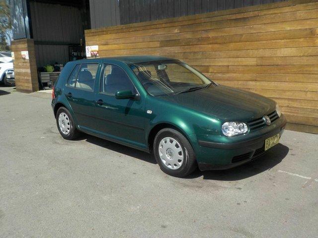 Used Volkswagen Golf 4th Gen GL, 2001 Volkswagen Golf 4th Gen GL Green 5 Speed Manual Hatchback