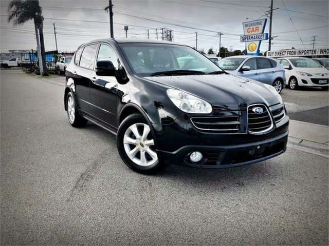 Used Subaru Tribeca B9 , 2007 Subaru Tribeca B9 R Premium Pack Black Sports Automatic Wagon