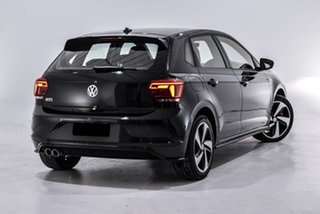2019 Volkswagen Polo AW MY19 GTI DSG Black 6 Speed Sports Automatic Dual Clutch Hatchback.