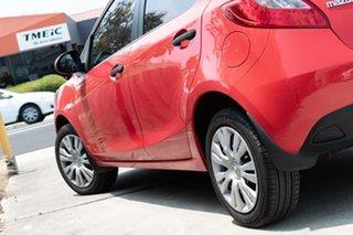 2010 Mazda 2 DE10Y1 Neo True Red 5 Speed Manual Hatchback