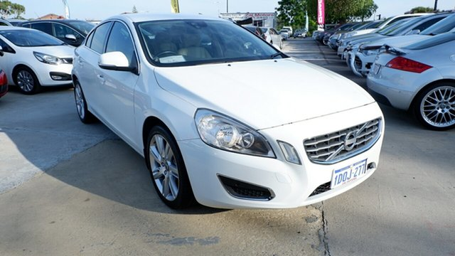 Used Volvo S60 F Series MY12 T6 Geartronic AWD, 2011 Volvo S60 F Series MY12 T6 Geartronic AWD White 6 Speed Sports Automatic Sedan