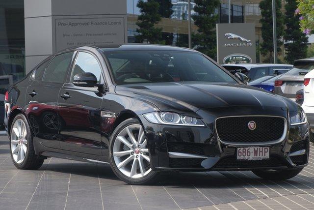 Used Jaguar XF X260 MY16 25t R-Sport, 2015 Jaguar XF X260 MY16 25t R-Sport Black 8 Speed Sports Automatic Sedan